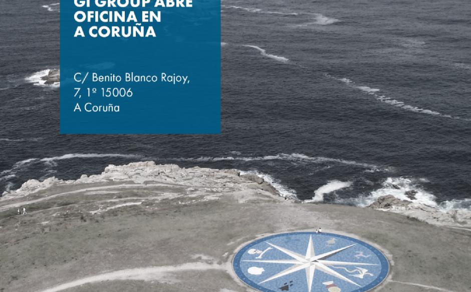 Gi Group abre sus puertas también en A Coruña