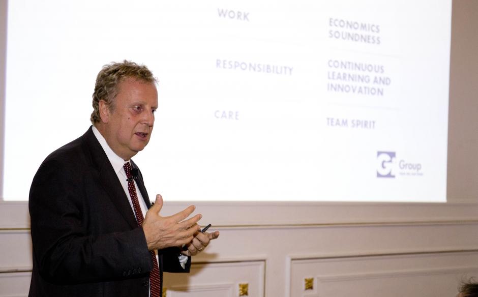 """Celebramos el Afterwork """"¿Como ha cambiado la crisis el perfil del directivo español?"""" con motivo de la presencia en España de nuestro CEO Stefano Colli-Lanzi"""