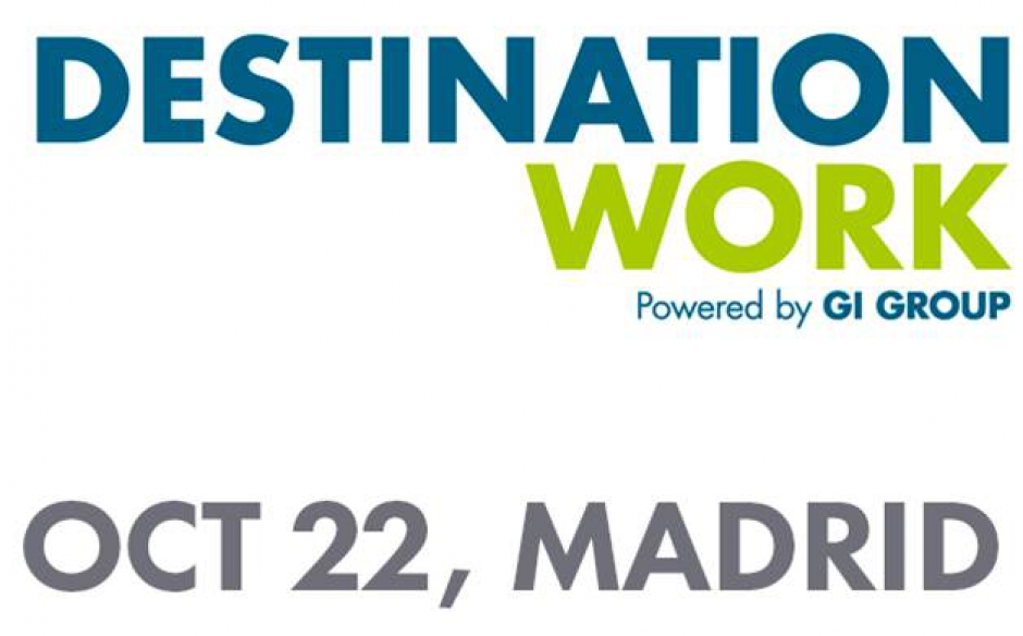 ¿Buscas trabajo? Únete a «Destination Work»