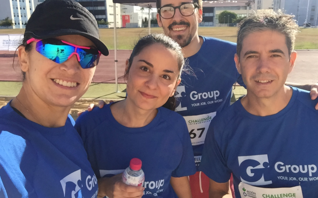 GI GROUP CORRE EN EL CHALLENGE CONTRA EL HAMBRE