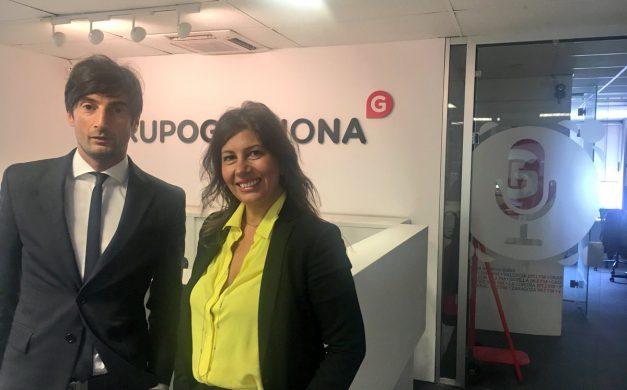 PATRICIA BARROSO Y STEFANO NOVARETTO EN GESTIONA RADIO