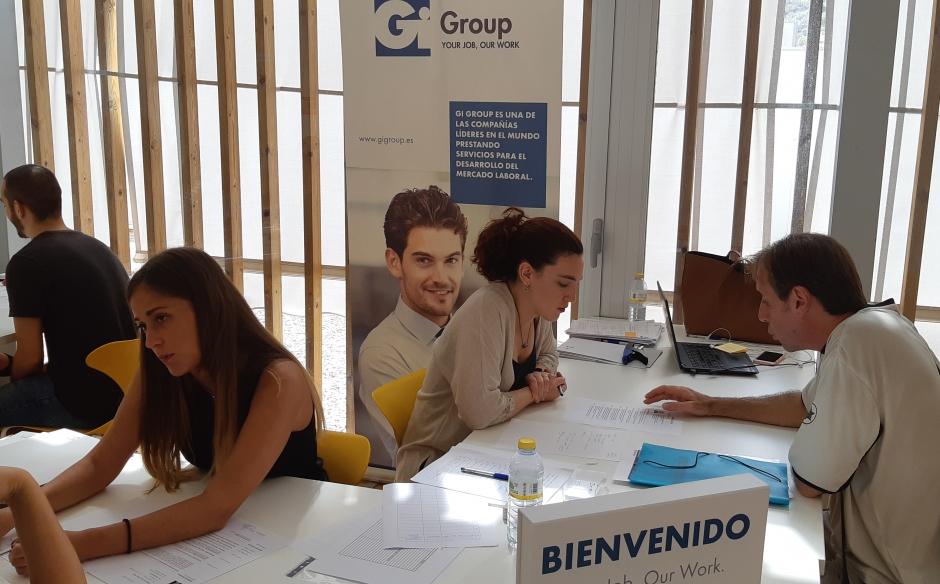 GI GROUP EN LAS FERIAS DE EMPLEO DE VALENCIA Y SAGUNTO
