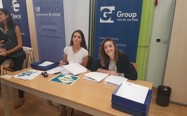 GI GROUP EN LA FERIA DE EMPLEO DE CHAMBERÍ