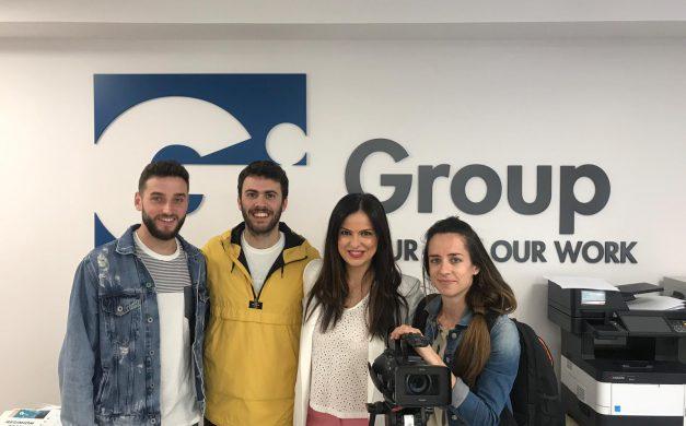 ARAGÓN TV VISITA NUESTRA OFICINA DE GI GROUP ZARAGOZA
