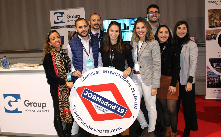 GI GROUP DE NUEVO EN JOBMADRID 2019