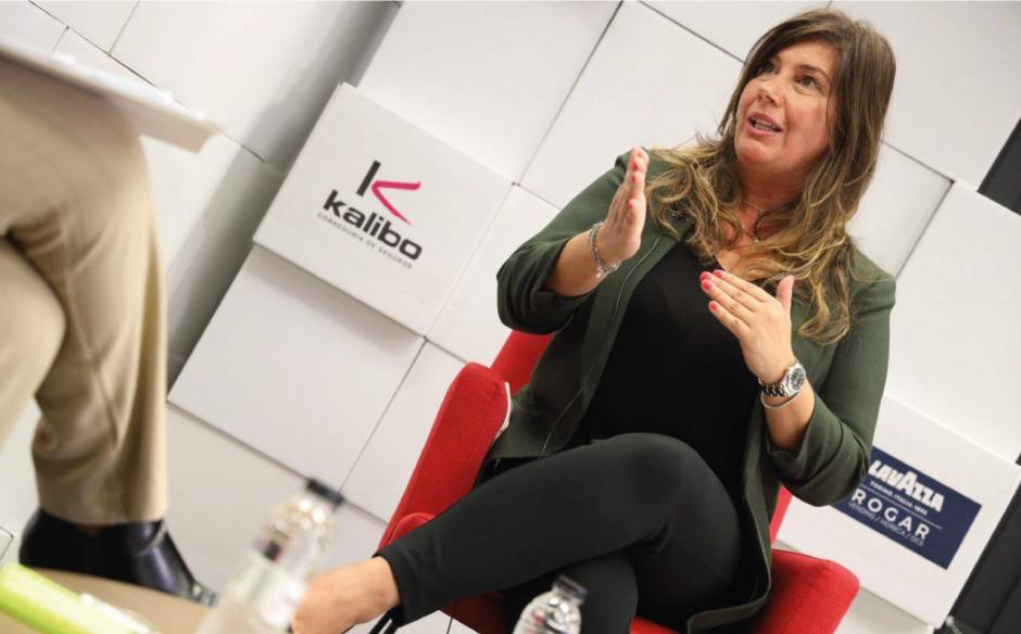 Patricia Barroso protagoniza la Mesa Abierta de la Cámara de Comercio de Zaragoza
