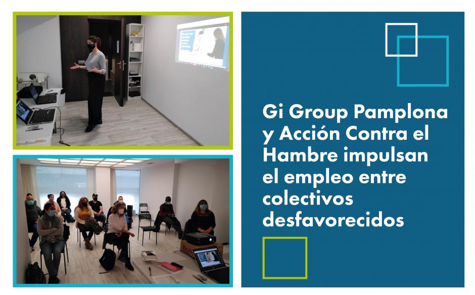 Gi Group Pamplona y Acción Contra el Hambre impulsan el empleo en la capital navarra.