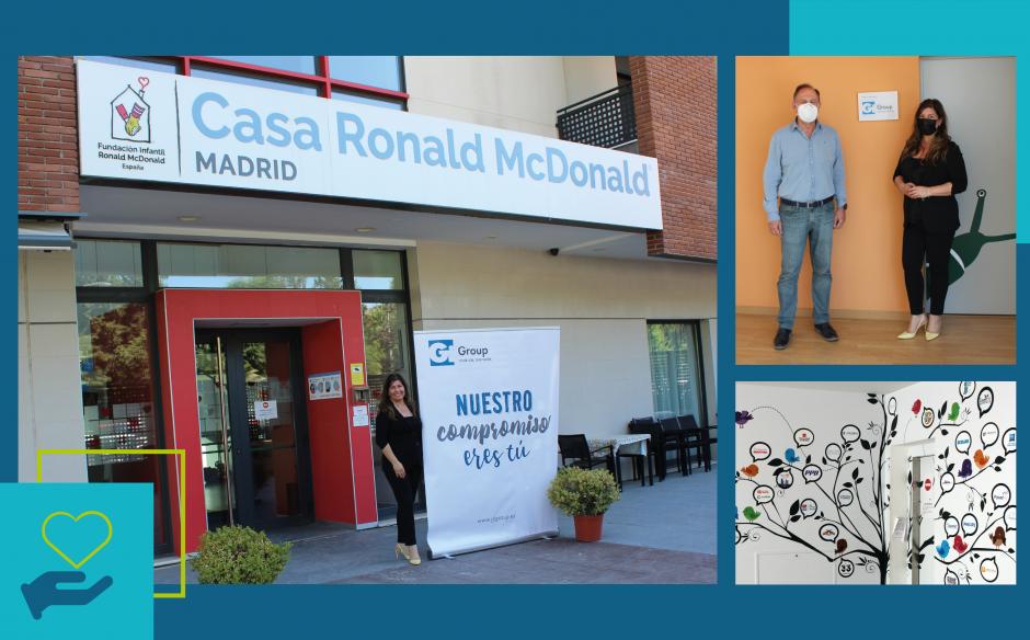 ¡Inauguramos habitación en la Fundación Ronald McDonald's!
