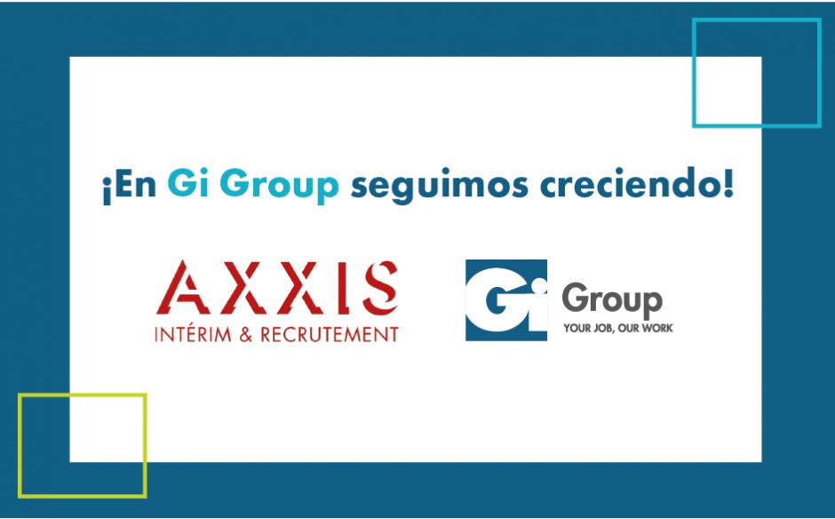 Gi Group continua creciendo con la adquisición de Axxis Intérim & Recrutement